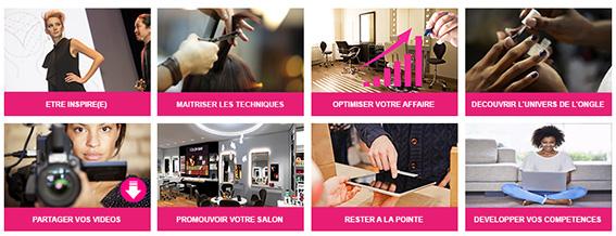 L'initiative de « My salon EDU » s'inscrit dans une volonté de permettre à tous les coiffeurs du monde entier de réinventer en permanence les services, l'accueil, les tendances, pour toujours rester attractifs