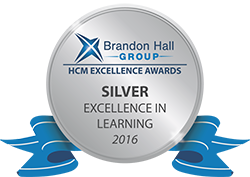 Brandon Hall Excellence Awards 2016 - Silver medal