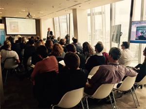 audience at The Shard CrossKnowledge Breakfast