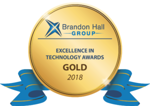 CrossKnowledge Gold Award at Brandon Hall's 2018 Excellence in Technology Awards