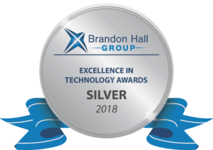 CrossKnowledge silver Award at Brandon Hall's 2018 Excellence in Technology Awards