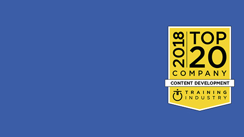 CrossKnowledge among 2018 Top 20 Content Development Companies List