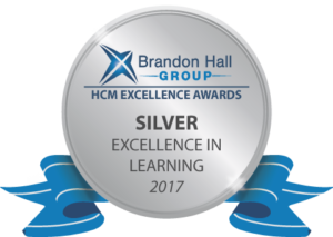 Brandon Hall Group Silver Badge 2017