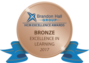 Brandon Hall Group Bronze Badge 2017