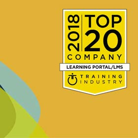 CrossKnowledge Among 2018 Top 20 Learning Portal/LMS Companies