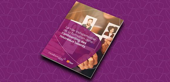 La formation a un rôle indispensable à jouer dans le processus d'intégration des nouveaux employés