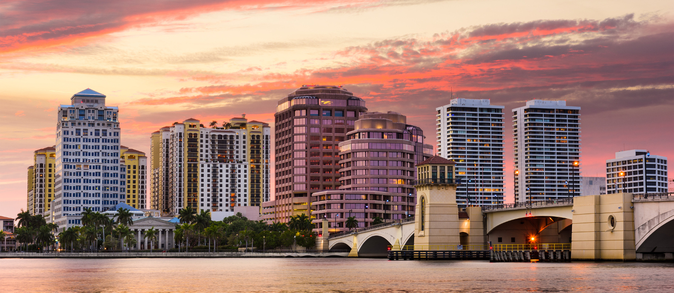 West Palm Beach, Florida skyline