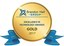 2017 Brandon Hall Excellence in Technology Gold