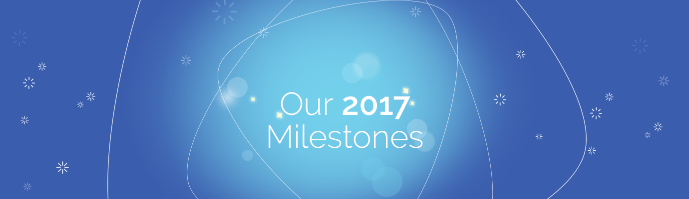 Our Milestones in 2017
