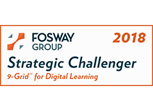 CrossKnowledge Strategic Challenger Fosway Grid 2018