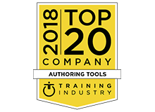 2018 Top 20 Authoring Tools Training Industry