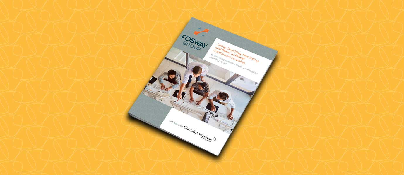 Fosway publication and coaching and mentoring