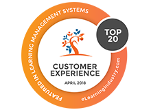 eLearning Industry Top 20 LMSs based on Customer Experience