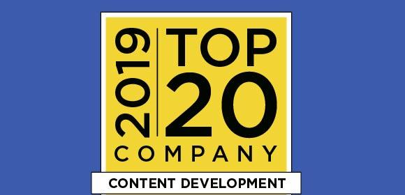 CrossKnowledge ist unter den Top 20 Content Development Unternehmen 2019