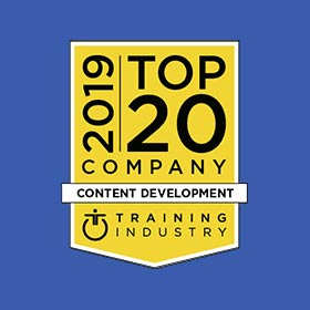 CrossKnowledge among 2019 Top 20 Content Development Companies List