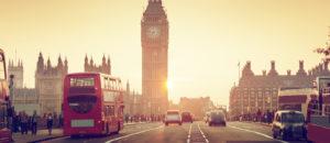 London Westminster sunset