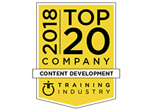 """CrossKnowledge recognized as one of the best providers in the """"Top 20 Content Development Companies List"""" by TrainingIndustry.com"""