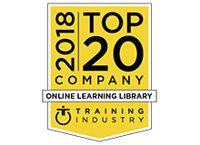 "CrossKnowledge recognized as one of the best providers in the 2018 ""Online Learning Library List"" by TrainingIndustry.com."