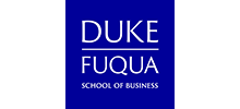 Logo Duke University's Fuqua School of Business with transparency 220*100
