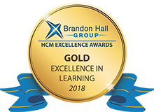 Gold Excellence in Learning Awards by Brandon Hall