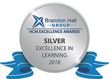 Brandon Hall Learning Excellence Award - silver - 2018
