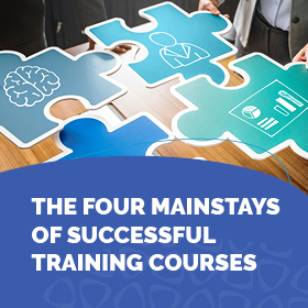 e-Book : The 4 Mainstays of Successful Training Courses