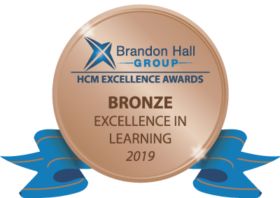 Brandon Hall Group Bronze Badge 2019