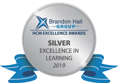Brandon Hall Group Silver Badge 2019
