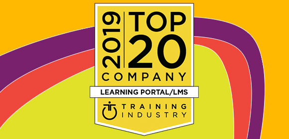 CrossKnowledge Among the 2019 Top 20 Learning Portal/LMS Companies