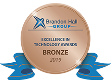 Bronze award 2019 Brandon Hall