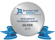 Silver award 2019 Brandon Hall