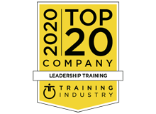 "CrossKnowledge recognized as one of the best providers in the ""Top 20 Leadership Training List"" by TrainingIndustry.com"