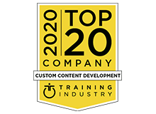 2020 Top 20 Custom Content Development Companies Award