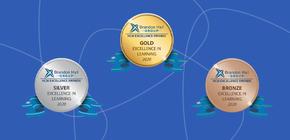 CrossKnowledge remporte 16 médailles aux Brandon Hall Group Excellence Awards 2020