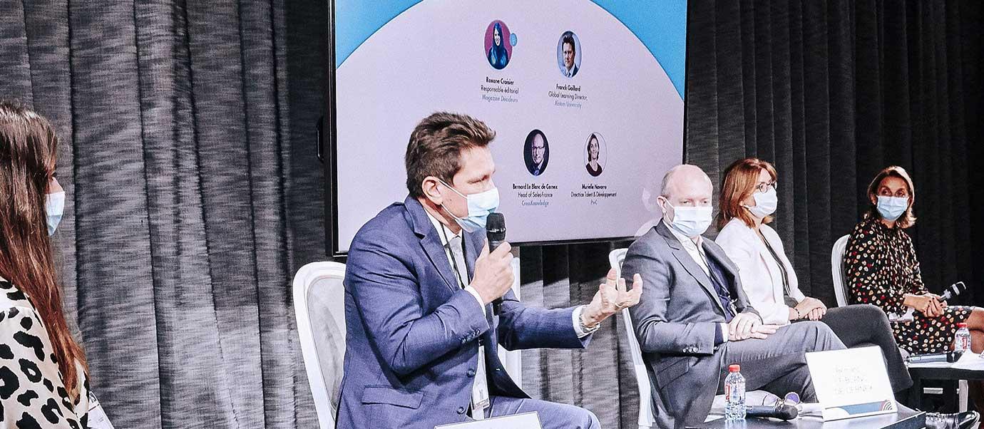 Franck Gaillard, Alstom sur les Serial Learners au Printemps des UNiversités d'entreprises 2020