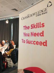 Kakemono CrossKnowledge - The Skills You Need to Succeed